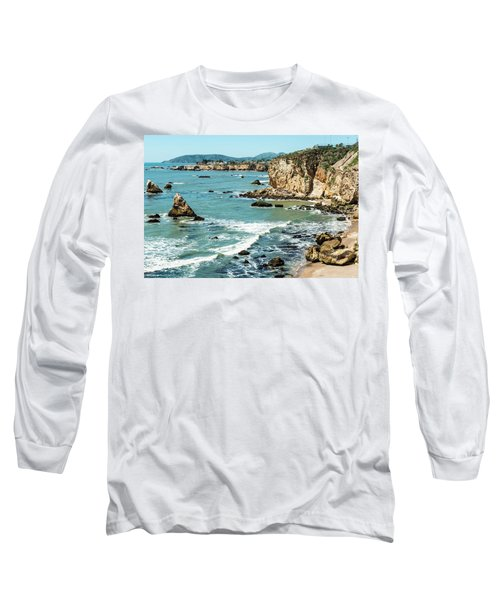 Sea And Cliffs Long Sleeve T-Shirt