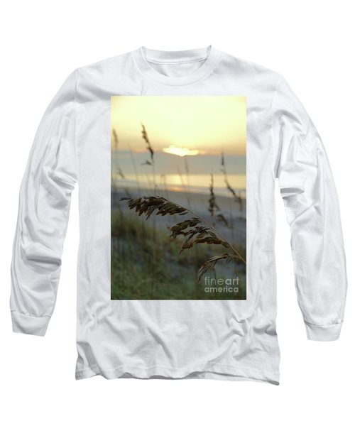 Sea Oats At Sunrise Long Sleeve T-Shirt