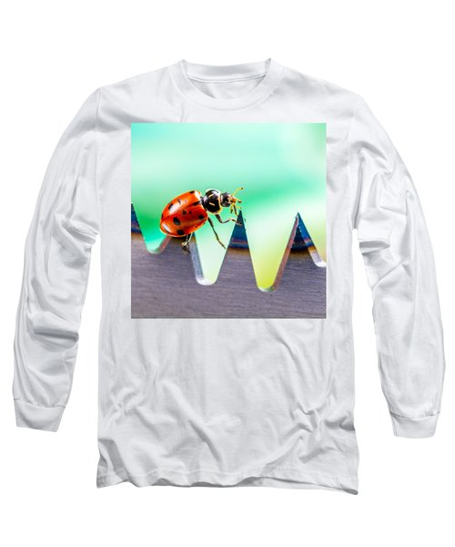 Long Sleeve T-Shirt featuring the photograph Sea Of Pain by TC Morgan