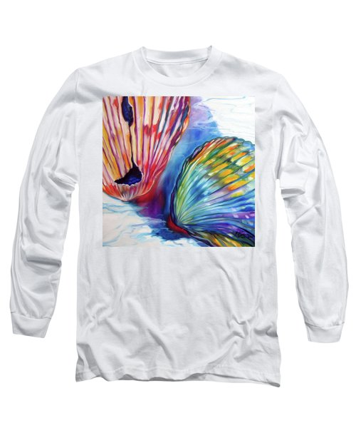 Sea Shell Abstract II Long Sleeve T-Shirt