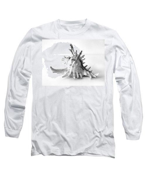 Sea Shell Long Sleeve T-Shirt by Gina Dsgn