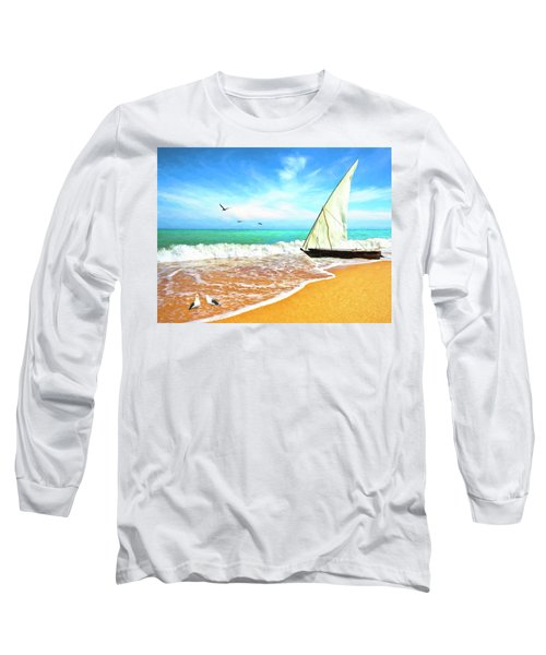 Sea Shore Long Sleeve T-Shirt
