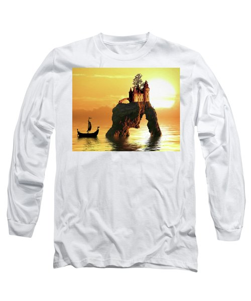 Sea Stack Castle Long Sleeve T-Shirt