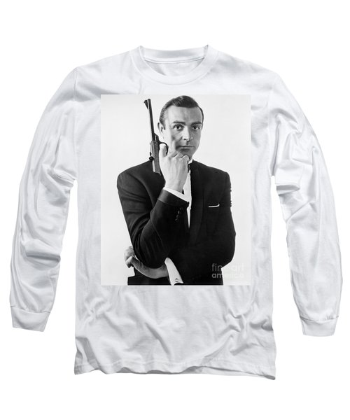 Sean Connery (1930-) Long Sleeve T-Shirt