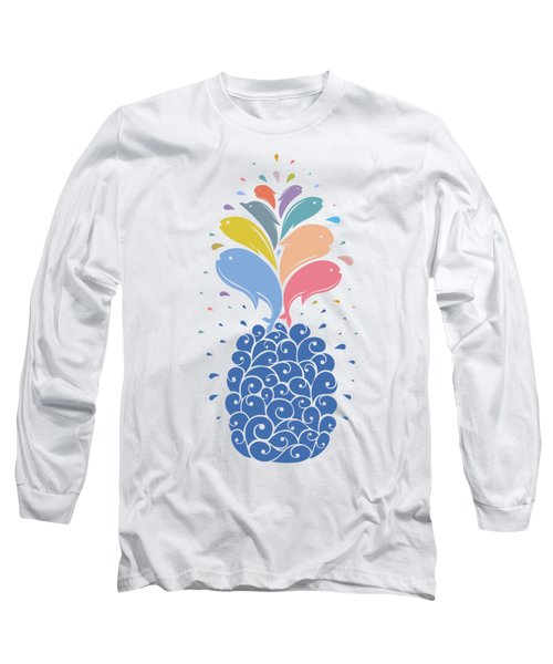 Seapple Long Sleeve T-Shirt by Mustafa Akgul