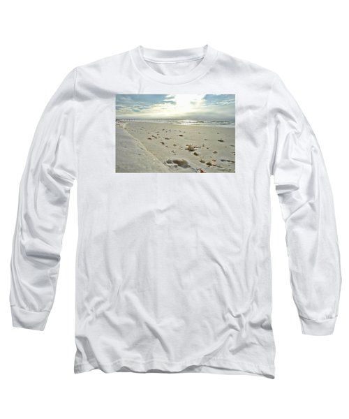 Seashells On The Seashore Long Sleeve T-Shirt