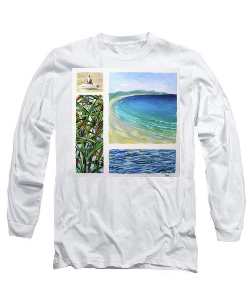 Seaside Memories Long Sleeve T-Shirt by Chris Hobel