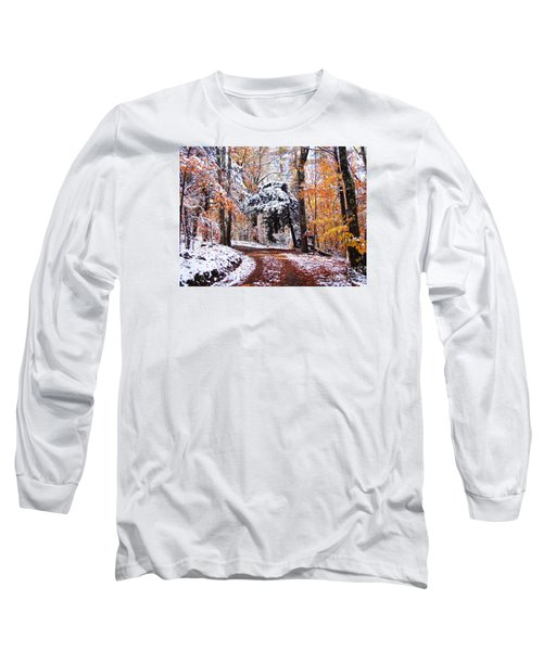 Seasons Cross Long Sleeve T-Shirt by Betsy Zimmerli
