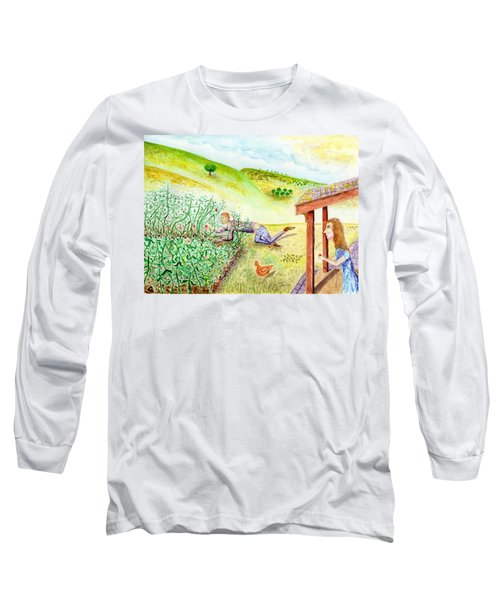 Seasons First Tomatoes Long Sleeve T-Shirt