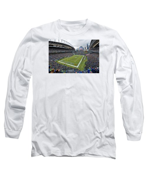 Seattle Seahawks Centurylink Field Long Sleeve T-Shirt