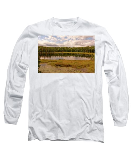 Secluded Lake Long Sleeve T-Shirt