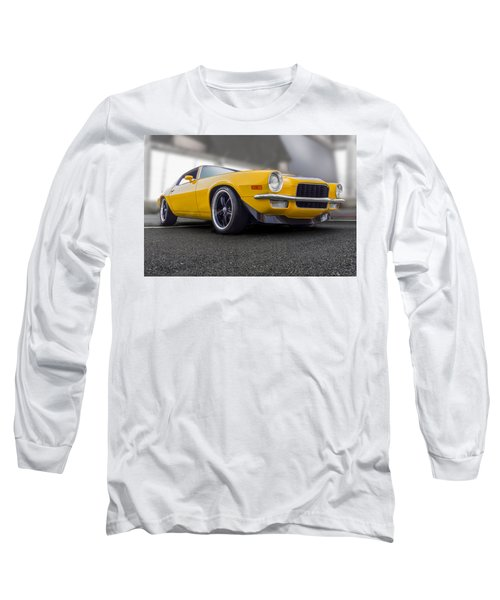 Second Gen Camaro Long Sleeve T-Shirt by Gary Warnimont