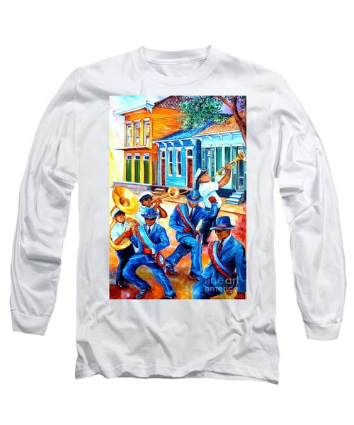 Second Line In Treme Long Sleeve T-Shirt