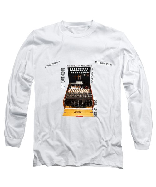 Secret Messages  Long Sleeve T-Shirt by Tom Conway
