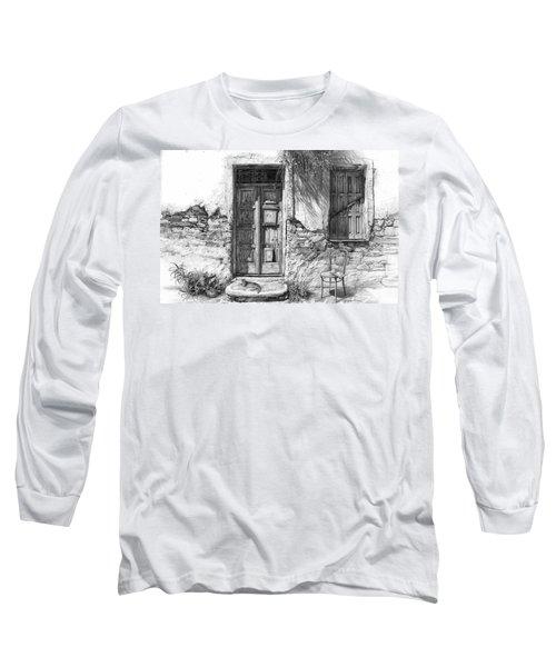 Secret Of The Closed Doors Long Sleeve T-Shirt
