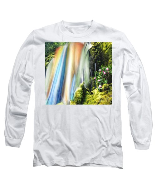 Secret Waterfall Of Life Long Sleeve T-Shirt