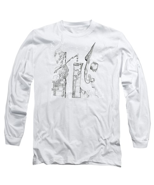 Secrets Of The Engineers Long Sleeve T-Shirt