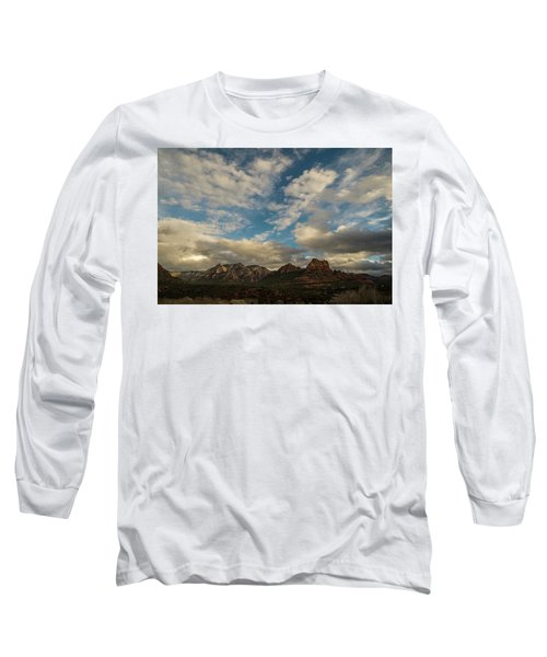 Sedona Arizona Redrock Country Landscape Fx1 Long Sleeve T-Shirt by David Haskett