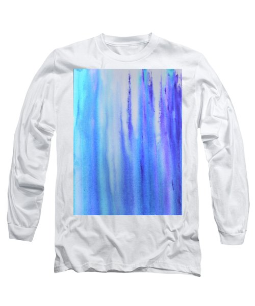 See Blue Sea Long Sleeve T-Shirt by Cyrionna The Cyerial Artist