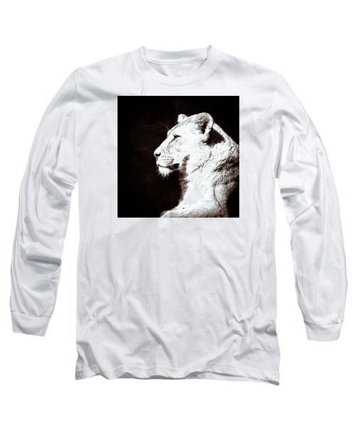 Long Sleeve T-Shirt featuring the photograph Seeing Double I by Wade Brooks