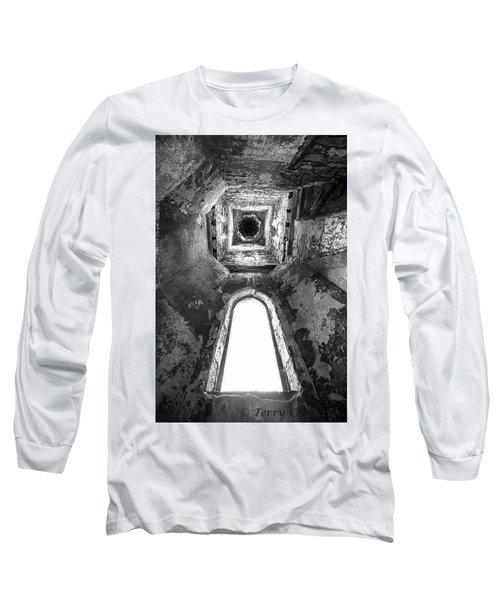 Seeing From With In Long Sleeve T-Shirt by Terry Cosgrave