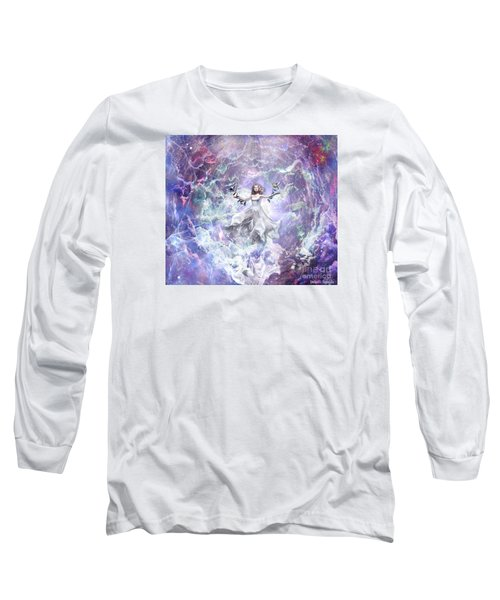 Long Sleeve T-Shirt featuring the digital art Seek And You Shall Find by Dolores Develde