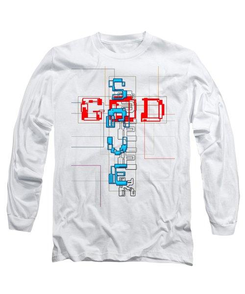 Seek, The Saving God Long Sleeve T-Shirt