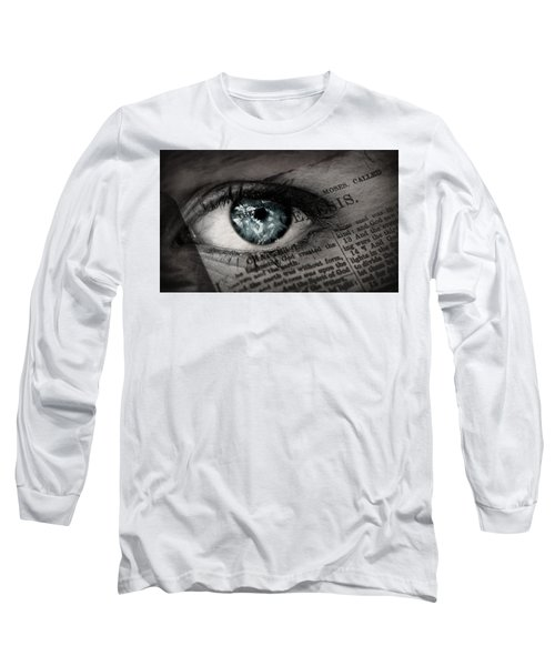 Seek The Truth Long Sleeve T-Shirt by David Norman