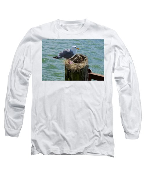 Seagull Family Long Sleeve T-Shirt