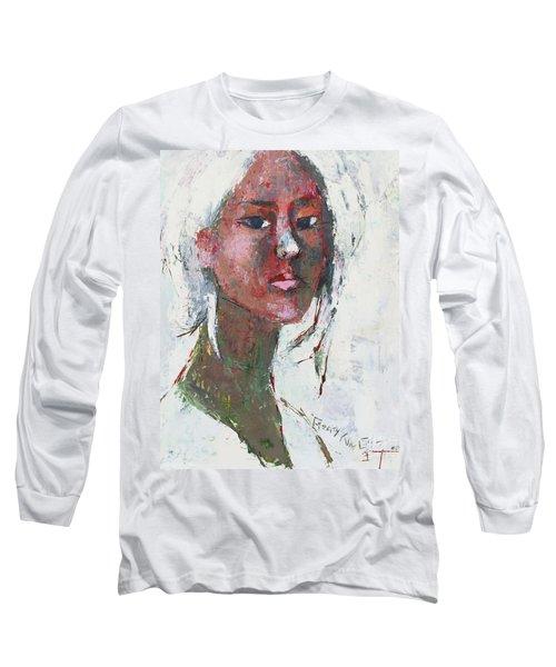 Self Portrait 1503 Long Sleeve T-Shirt by Becky Kim
