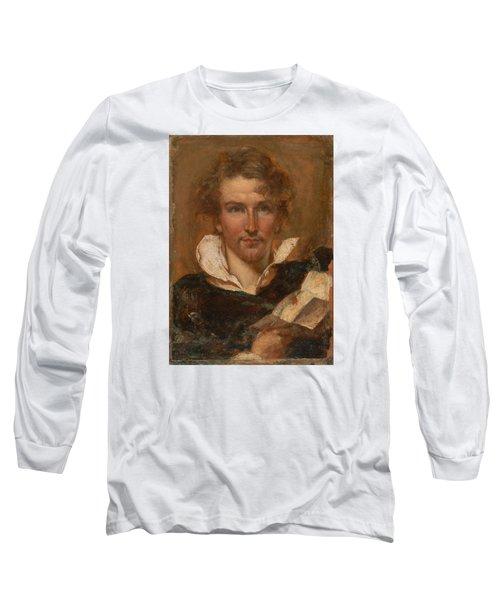 Self Portrait Long Sleeve T-Shirt by William Etty