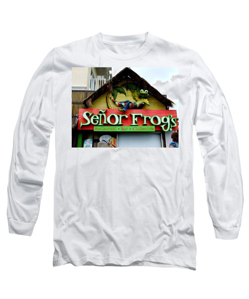Senor Frogs Long Sleeve T-Shirt