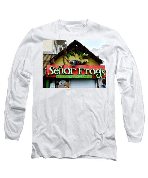 Senor Frogs Long Sleeve T-Shirt
