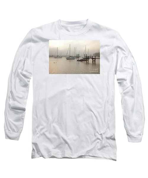 September Fog I Long Sleeve T-Shirt by Butch Lombardi