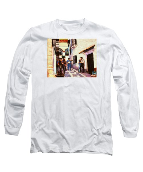 Seranade Long Sleeve T-Shirt by M Diane Bonaparte