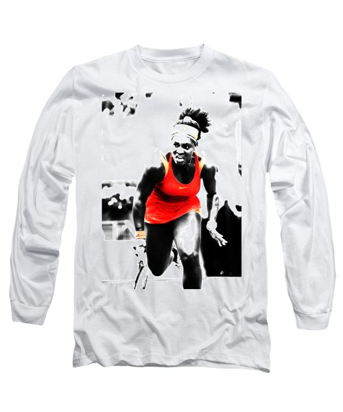 Serena Williams Go Get It Long Sleeve T-Shirt