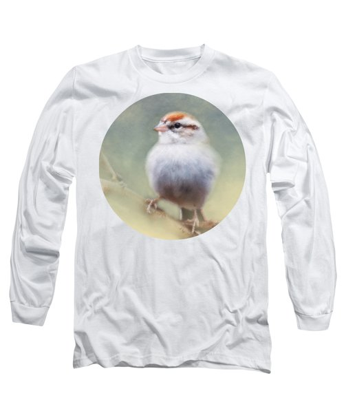 Serendipitous Sparrow  Long Sleeve T-Shirt by Anita Faye