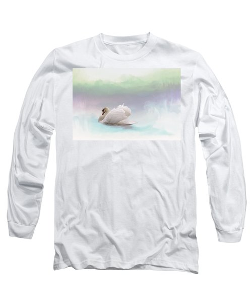 Long Sleeve T-Shirt featuring the photograph Serenity by Annie Snel