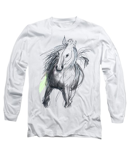 Sergei Long Sleeve T-Shirt by Carolyn Weltman