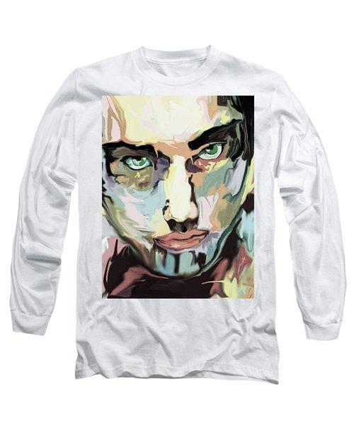Serious Face Long Sleeve T-Shirt