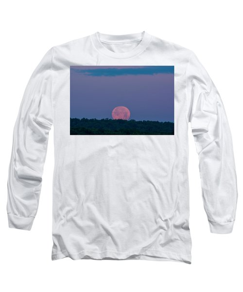 Setting Strawberry Moon Long Sleeve T-Shirt