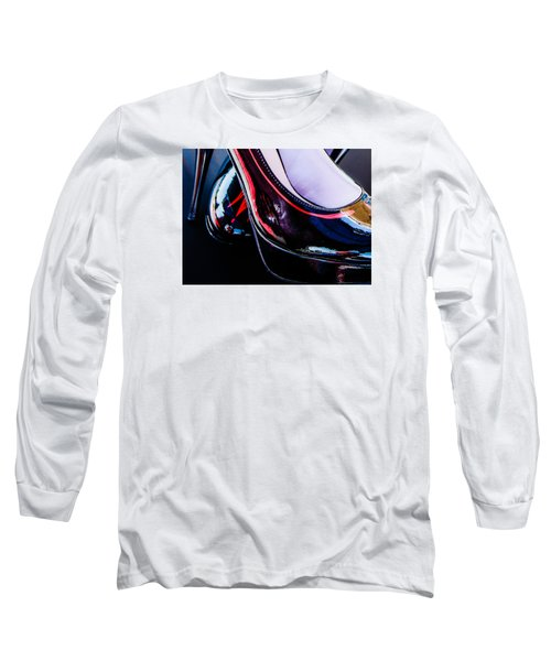 Sexy In Heels Long Sleeve T-Shirt by Michael Nowotny