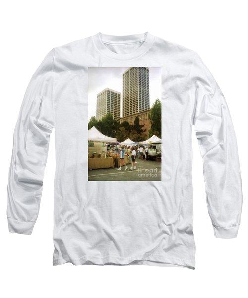 Sf Embarcadero Center Farmer Mkt Long Sleeve T-Shirt