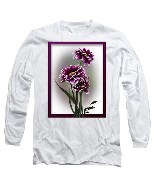 Shades Of Purple Long Sleeve T-Shirt