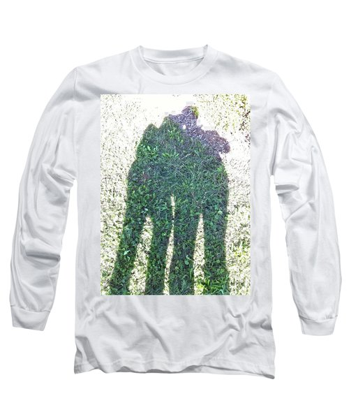 Long Sleeve T-Shirt featuring the photograph Shadow In The Meadow by Wilhelm Hufnagl