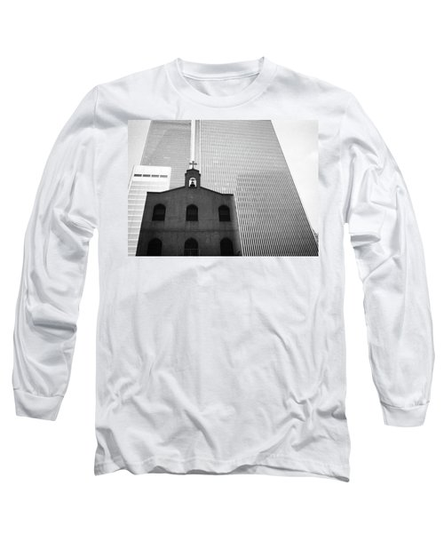 Shadow Of World Trade Center Long Sleeve T-Shirt