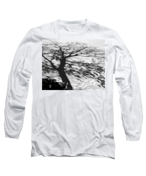 Shadow Tree  Herrick Lake  Naperville Illinois Long Sleeve T-Shirt