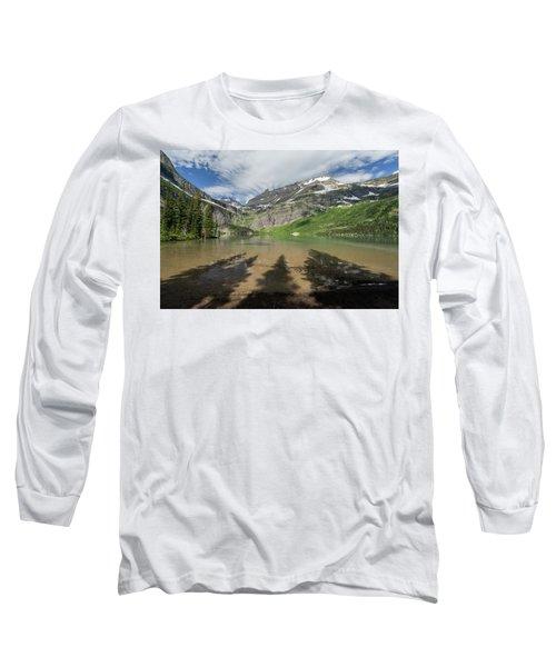 Shadows Long Sleeve T-Shirt by Alpha Wanderlust