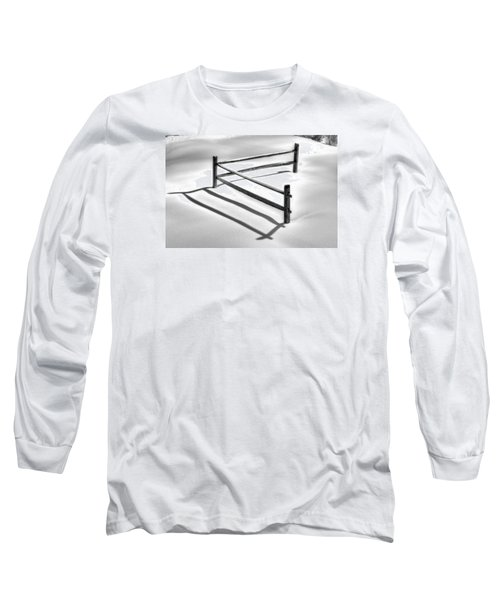 Shadows In The Snow - No. 1 Long Sleeve T-Shirt
