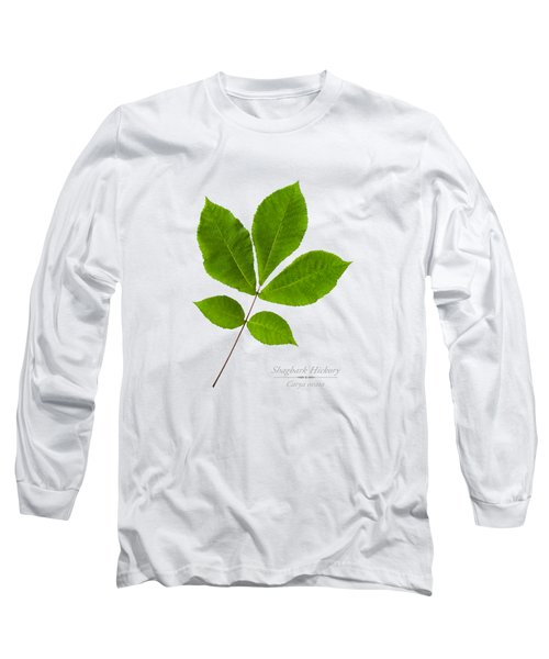 Long Sleeve T-Shirt featuring the photograph Shagbark Hickory by Christina Rollo